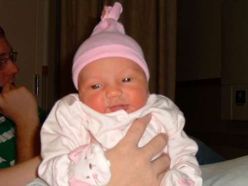 Our sweet niece, Alexis Grace, made her debut one week before Eli.