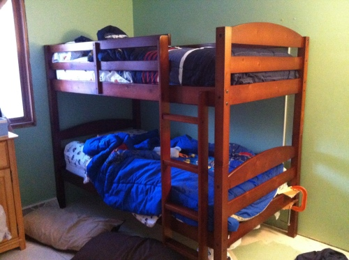 New bunk beds!